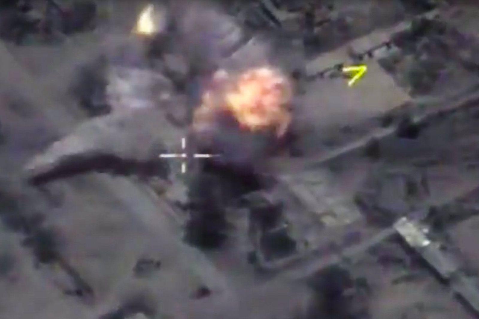 Syrien/ Russland / IS-Stellungen