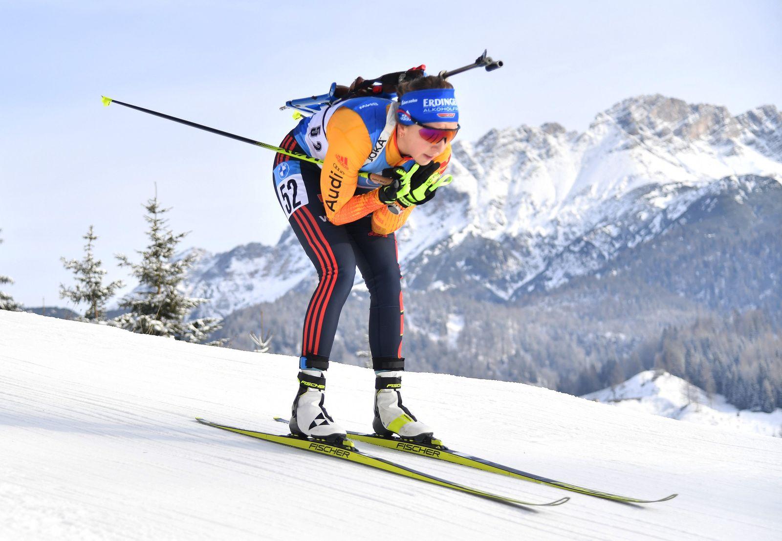 Biathlon-Weltcup in Österreich