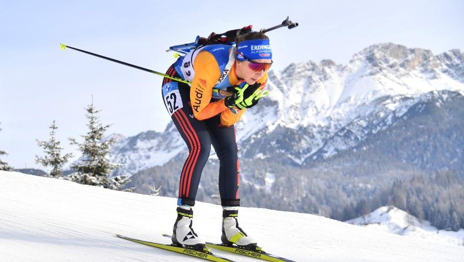 Franziska Preuß: »Cooles Rennen«