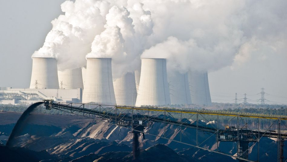 Much of Germany's energy supply still comes from burning brown coal.
