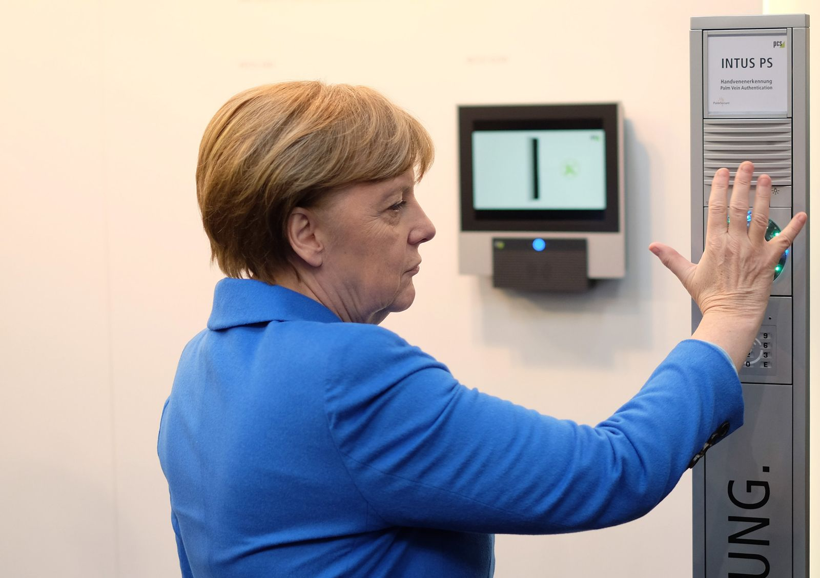 Merkel/ Cebit 2016