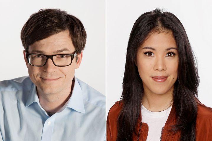 Ralph Caspers und Mai Thi Nguyen-Kim Leiendecker