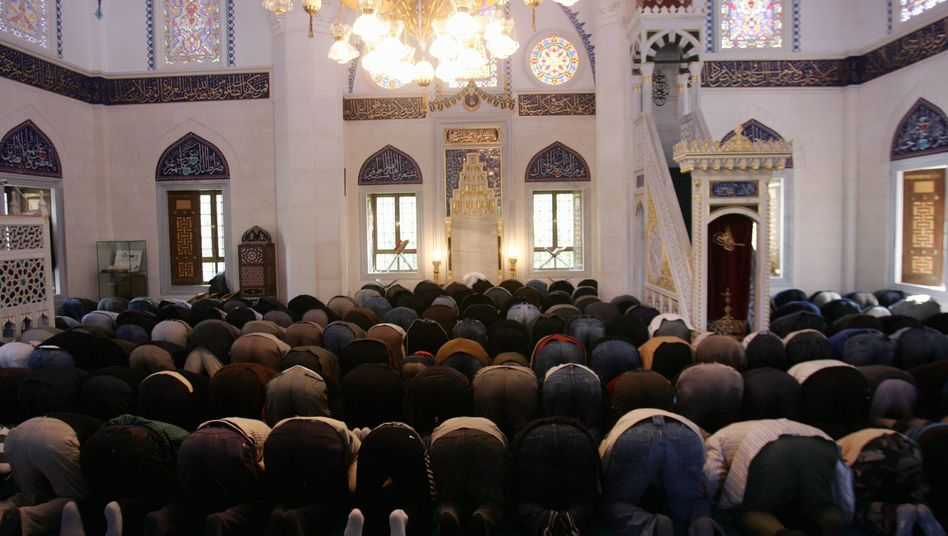 A Berlin mosque: A Berlin court has ruled that praying at school could cause conflict.