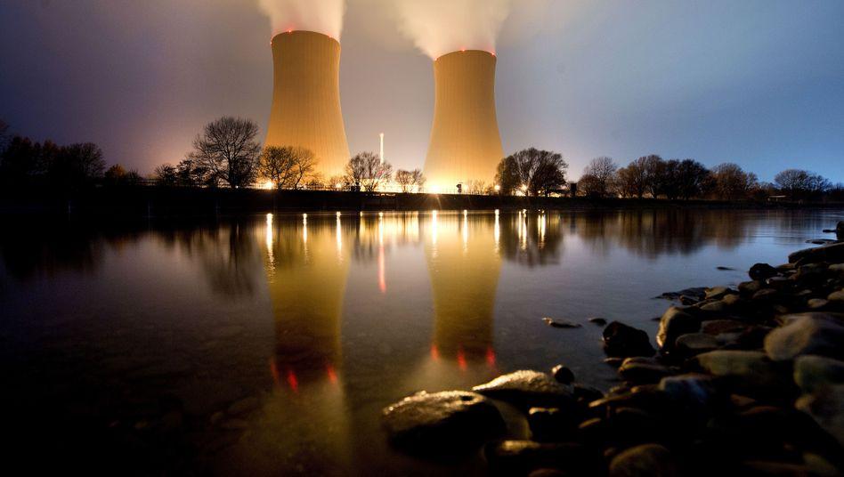E.on-Atomkraftwerk Grohnde in Niedersachsen