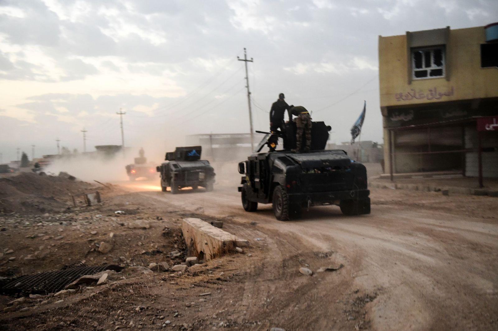 Irak / Mossul / Bazwaia / Irakische Spezialeinheiten / CTS