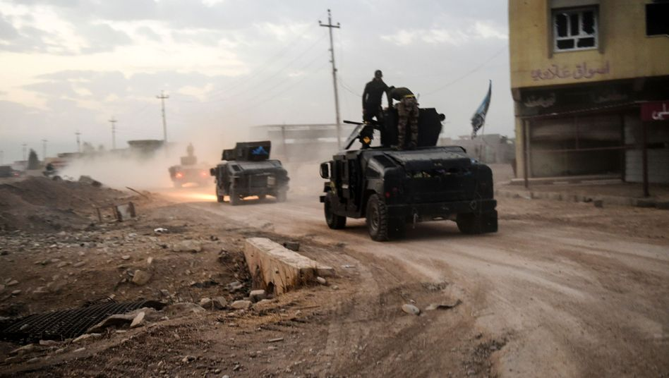 Militäroffensive Mossul
