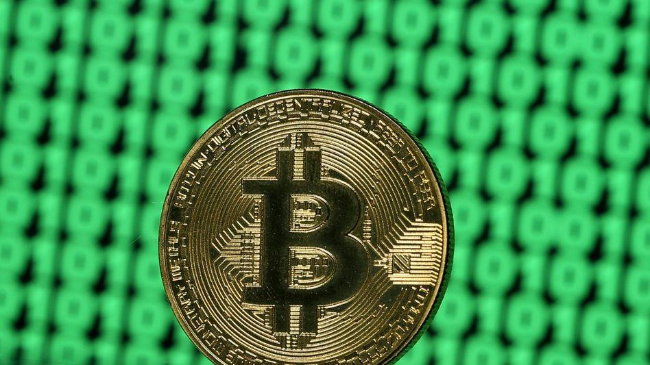 Virtuelle Währung Bitcoin (Symbolbild)