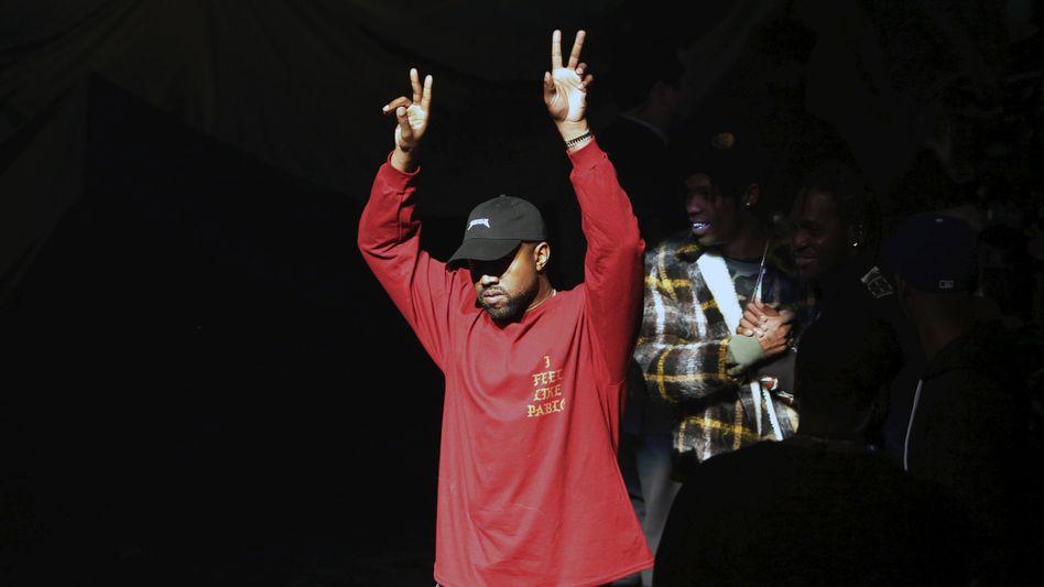 Kanye West bei der Albumvorstellung: das HipHop-Genre neu definiert