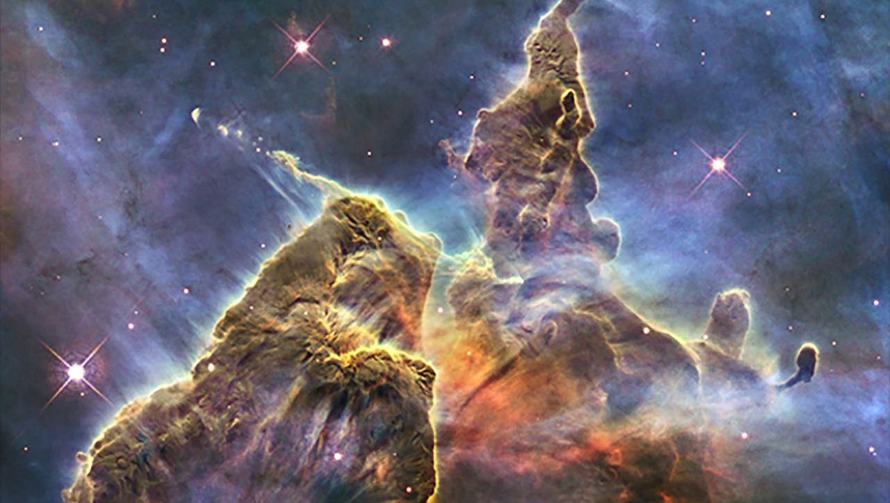 Bilder des Hubble-Weltraumteleskops: Unendliche Weiten, zauberhafte Nebel - DER SPIEGEL
