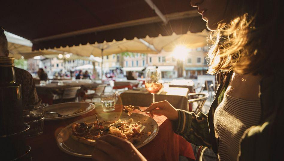 Restaurant in Italien: Zwei Teller Pasta und ein bisschen Fisch für 430 Euro
