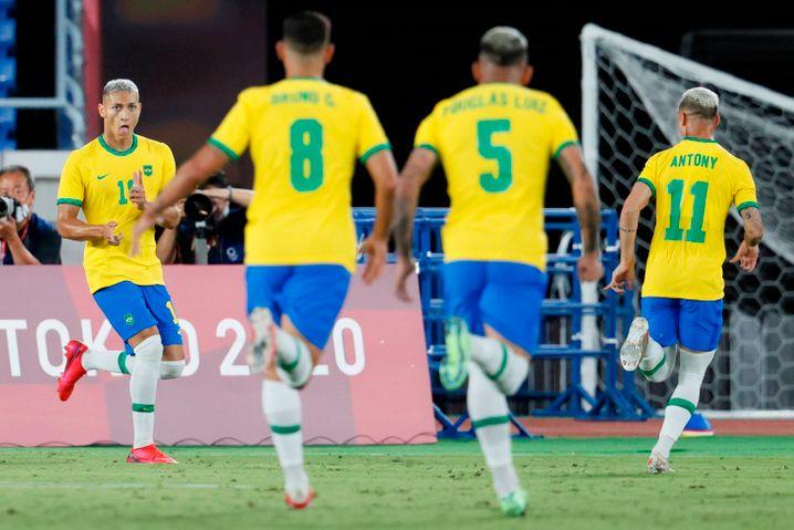 Brasilien um Richarlison tanzt – Deutschland nicht