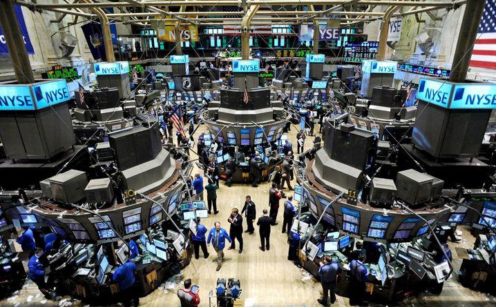 Börsenhändler in New York: Obama will den Super-Cop