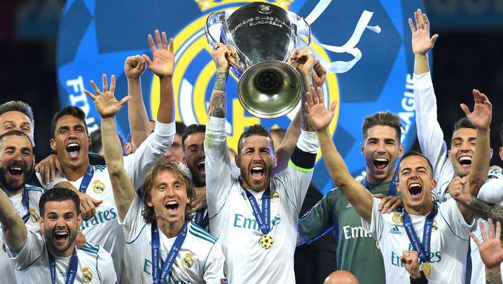 Champions League: Eine Verletzung, zwei Patzer, drei Titel in Folge