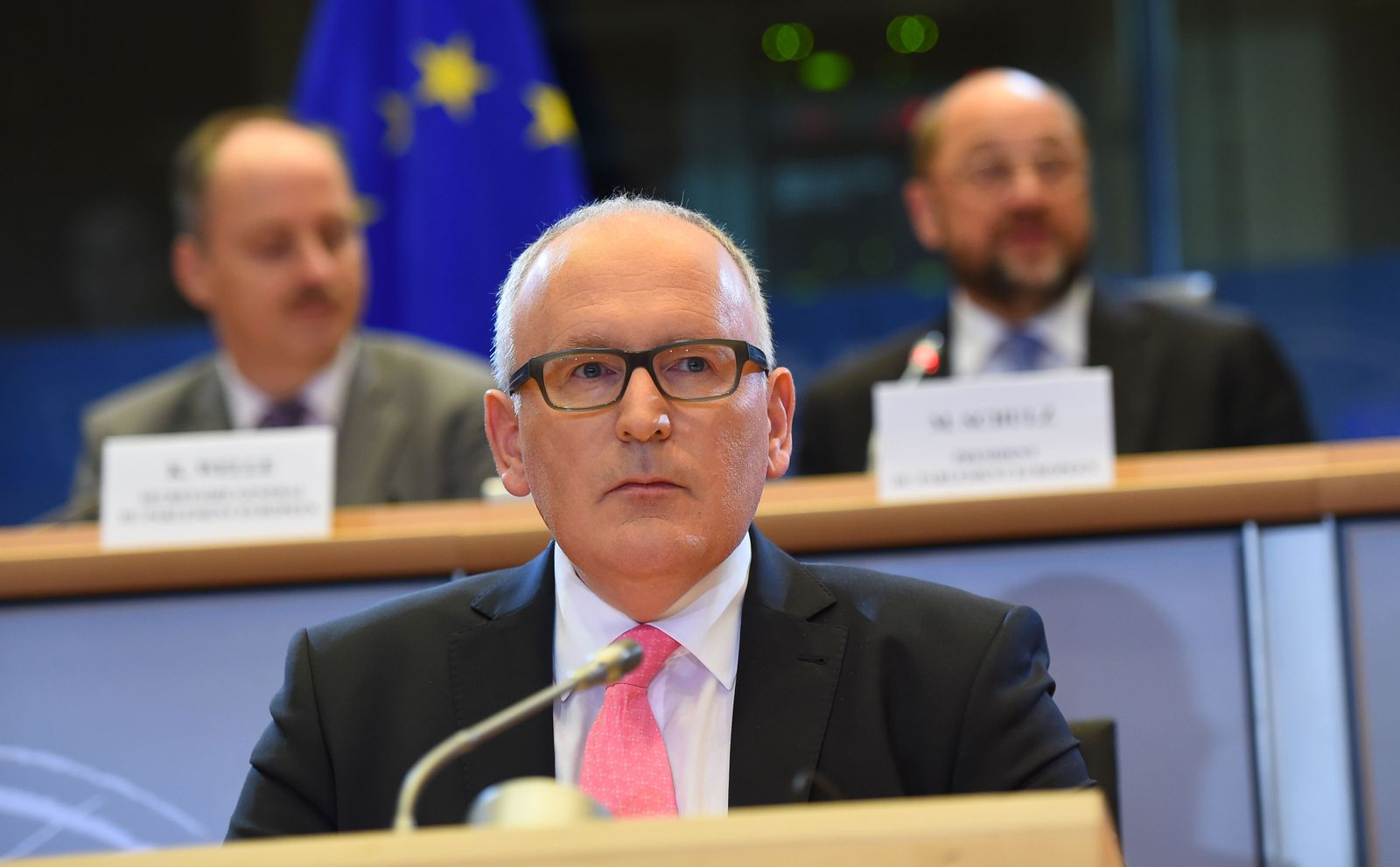 EU-Kommissare/ Timmermans
