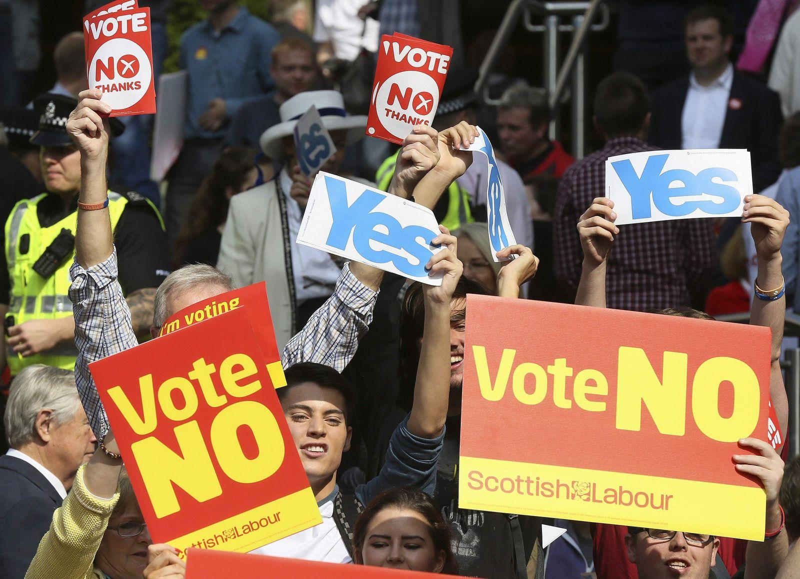 Referendum Schottland