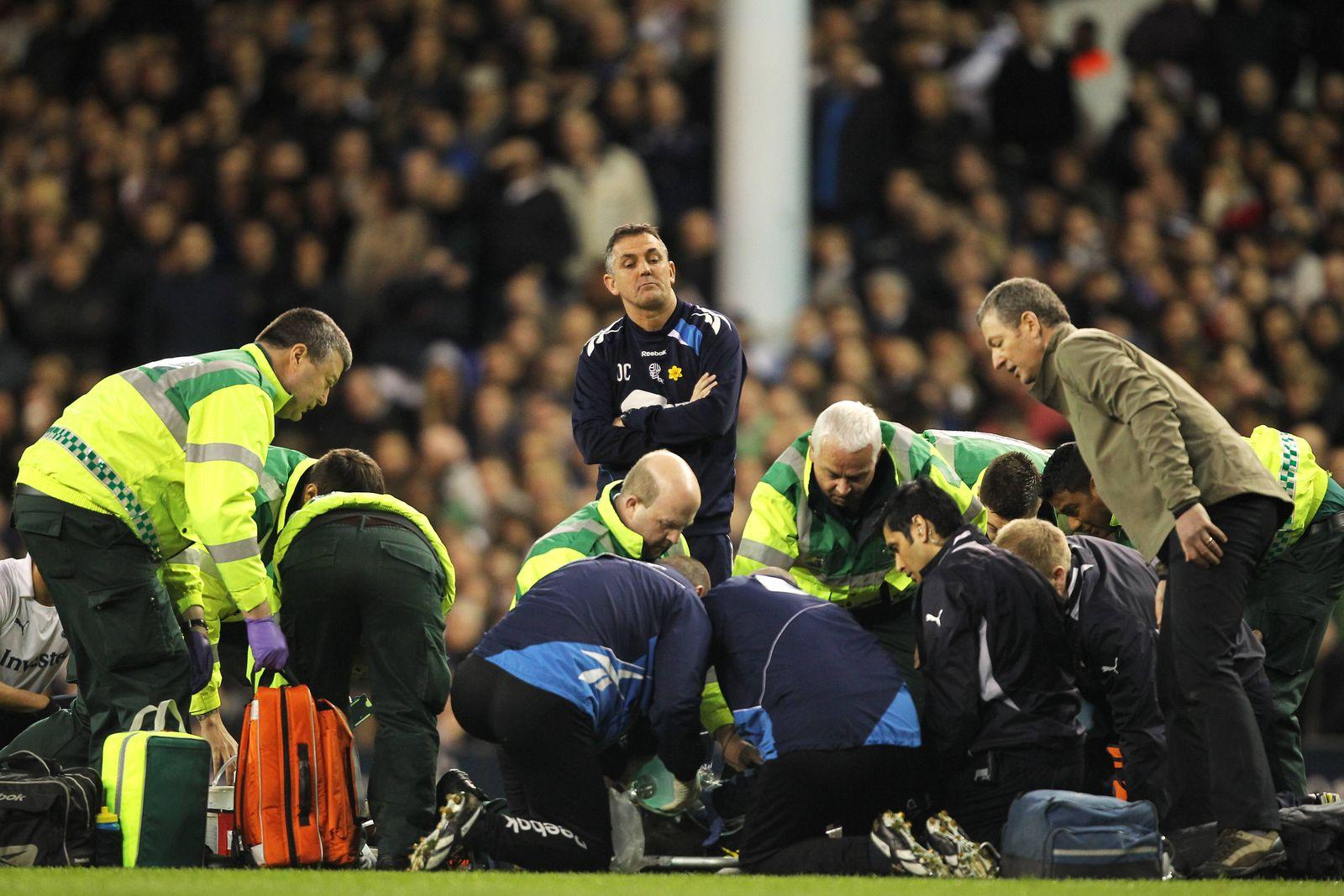 Soccer FA Cup Sixth Round Tottenham Hotspur v Bolton Wanderers White Hart Lane Bolton Wander