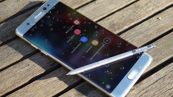 Samsung-Smartphone im Test: Das kann das Galaxy Note7