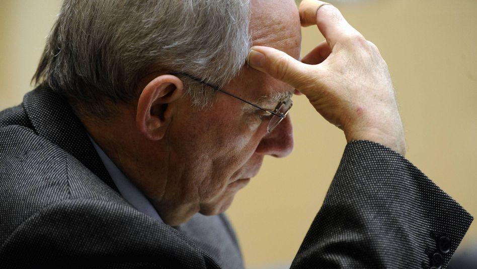 """Finanzminister Schäuble: """"Ich bin nicht pflegeleicht"""""""