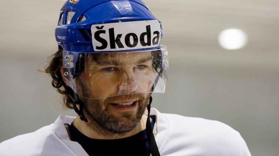 Eishockey-Star Jagr: Einjahresvertrag bei den Dallas Stars