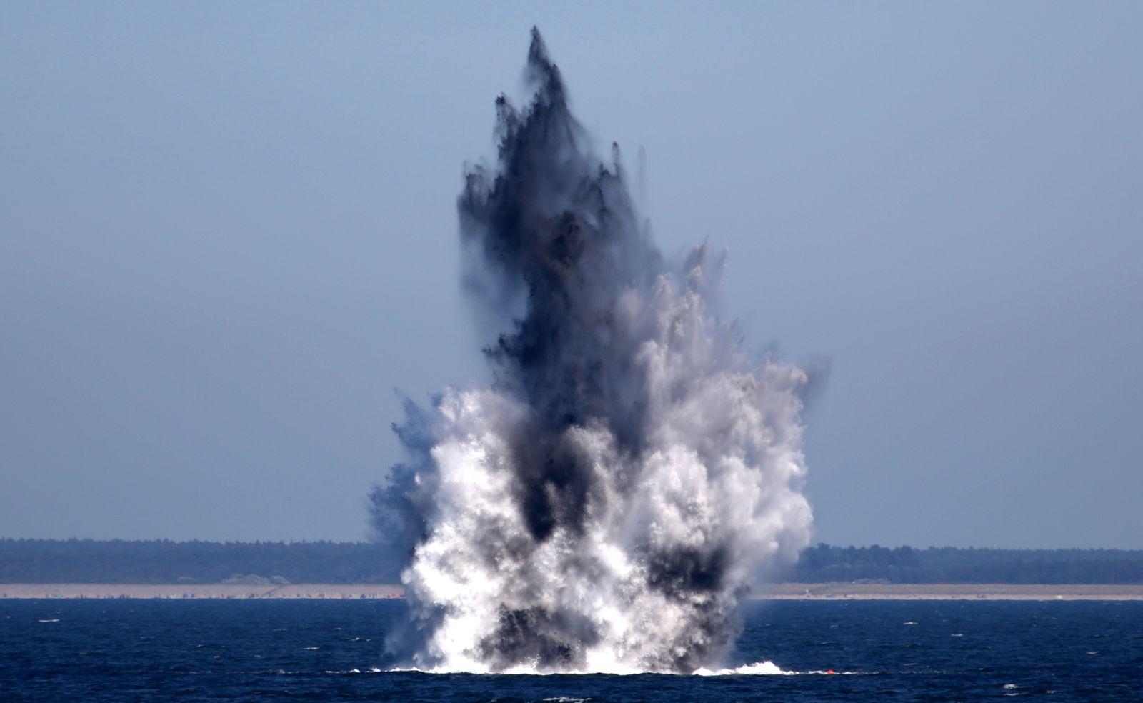 Weltkriegsmunition in der Ostsee