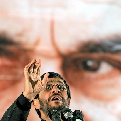 Iranian President Mahmoud Ahmadinejad doesn't take kindly to Western criticism of his country's legal practices.