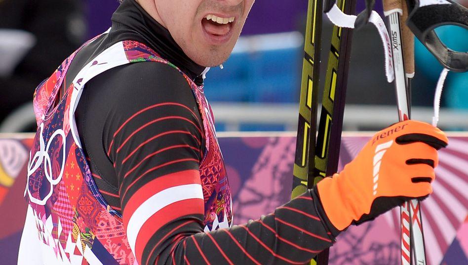 Johannes Dürr bei den Olympischen Spielen in Sotschi (2014)