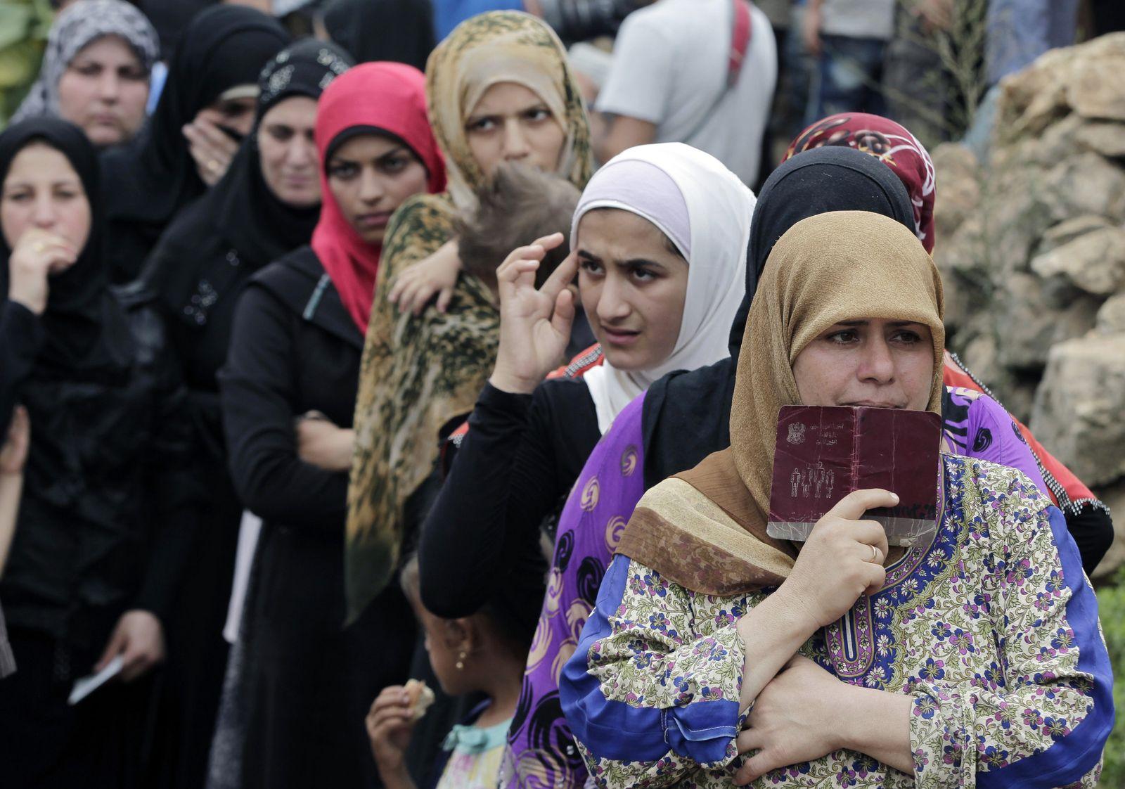 Flüchtlinge Syrien Libanon