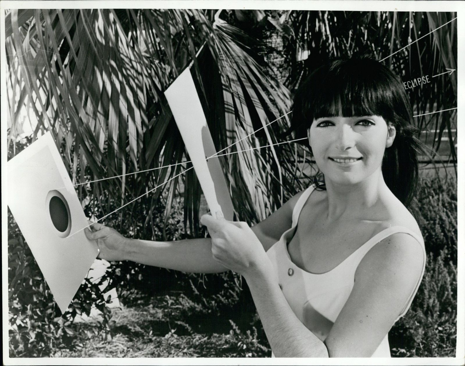Mar 03 1970 Total solar eclipse To construct the approved eclipse viewer take two pieces of wh