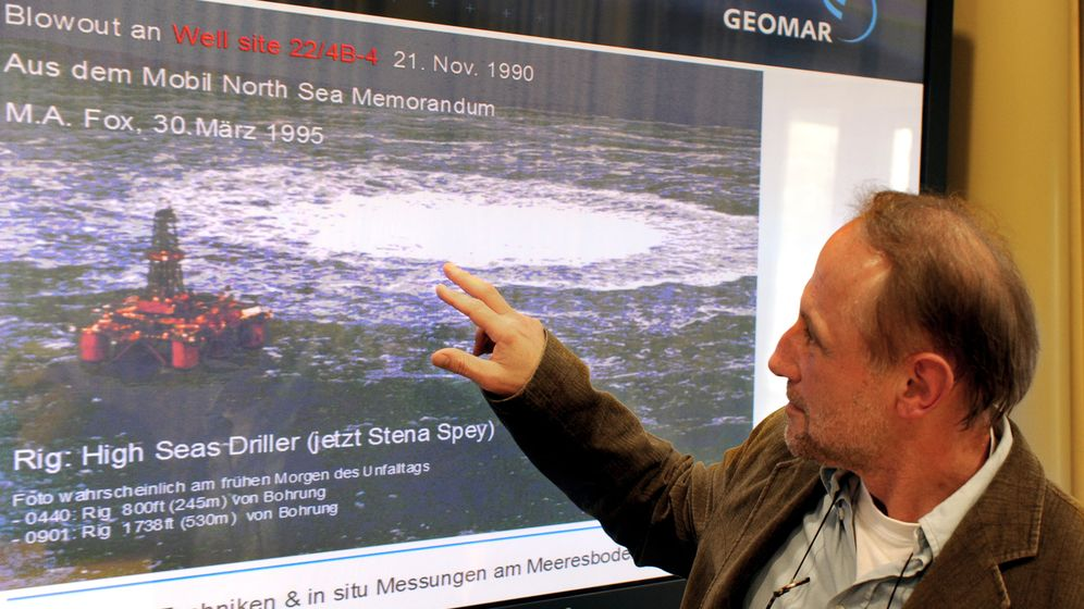 Unfall von 1990: Blowout lässt die Nordsee blubbern