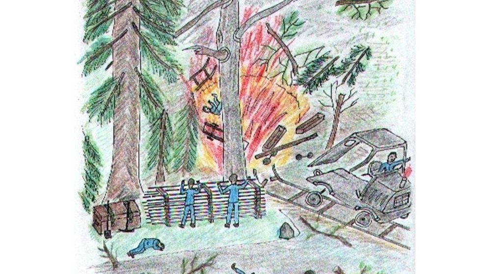Kriegsende: Explosive Reste