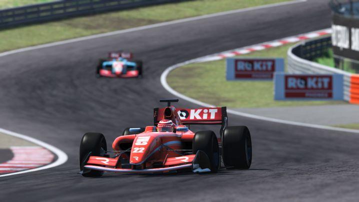 Der Kurs in Zandvoort, hier virtuell in einem Motorsport-Videospiel