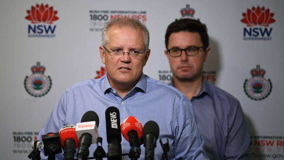 """Australiens Premierminister Scott Morrison: """"Wir werden uns nicht auf unbesonnene Klimaziele einlassen"""""""