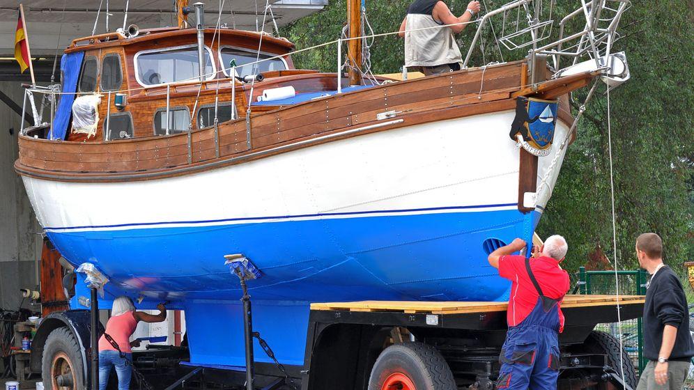 """Geschichtsunterricht zur See: Piratenflair auf dem """"Wilhelm Gustloff""""-Beiboot"""