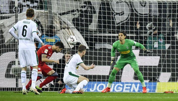 Bayerns 5:1 gegen Gladbach: Arbeit an der Tordifferenz