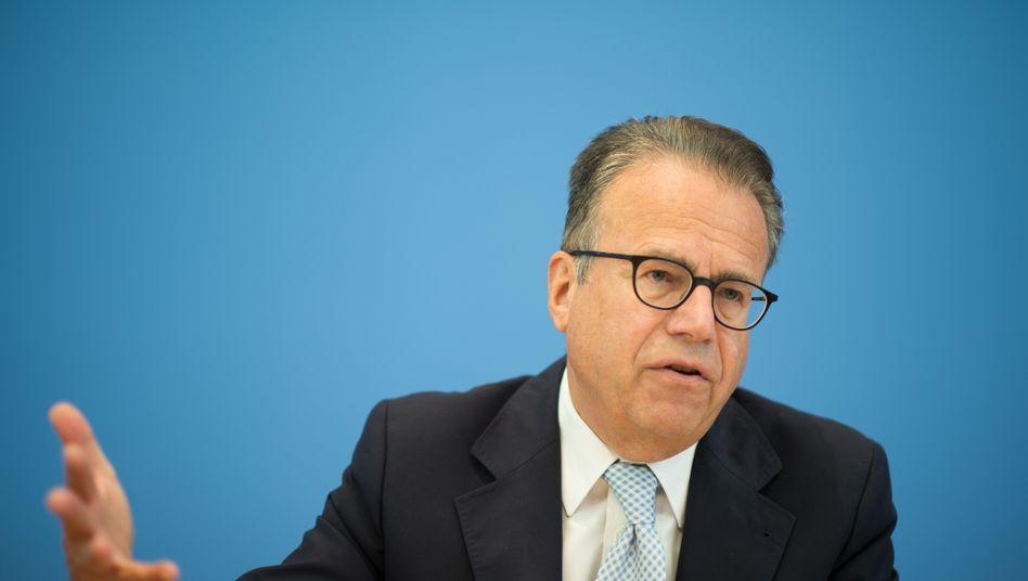 Der ehemalige Leiter des Bundesamtes für Migration und Flüchtlinge (BAMF), Frank-Jürgen Weise