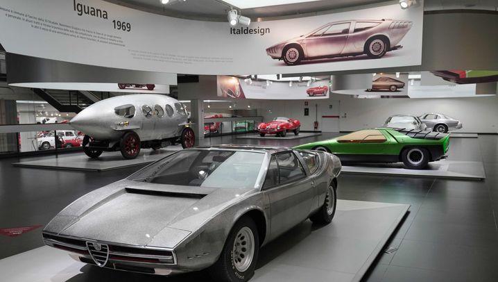 Alfa Romeo Iguana: Cooler Keil