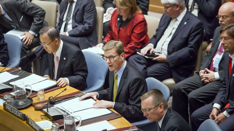 Außenminister Westerwelle im Sicherheitsrat: Neue Rolle für Arabische Liga