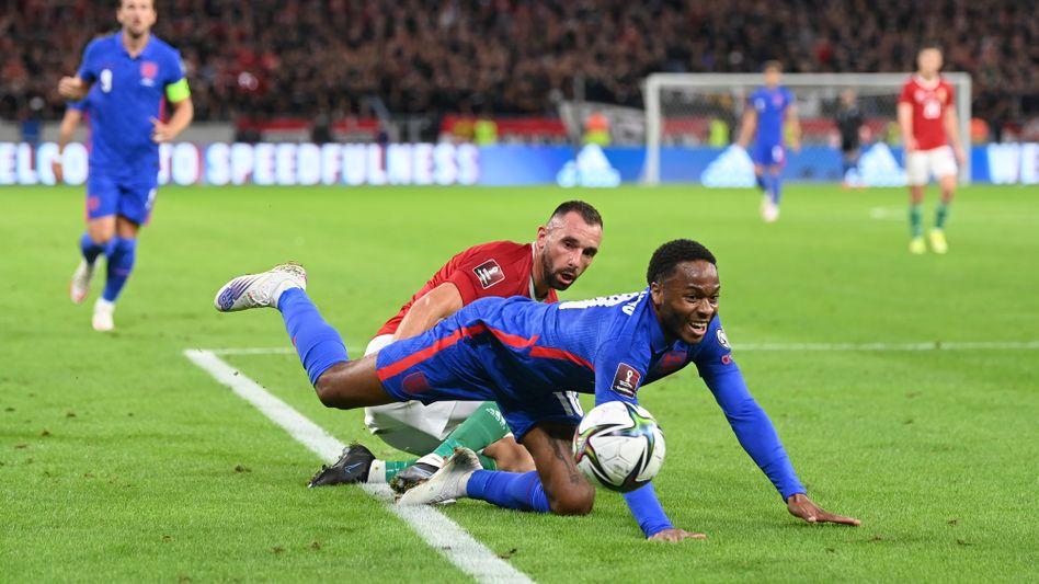 Raheem Sterling soll beim Qualifikationsspiel in Ungarn rassistisch beleidigt worden sein