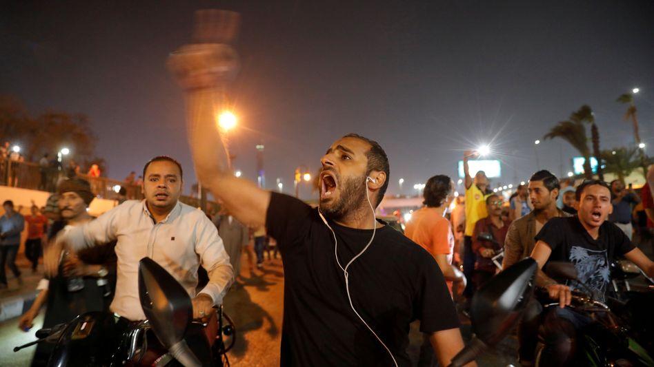 Proteste gegen Ägyptens Präsident Abdel Fattah el-Sisi sorgten 2019 im ganzen Land für Aufruhr