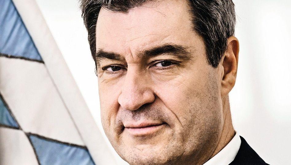 """Unions-Mann Söder: """"In der Krise wird oft nach dem Vater gefragt"""""""
