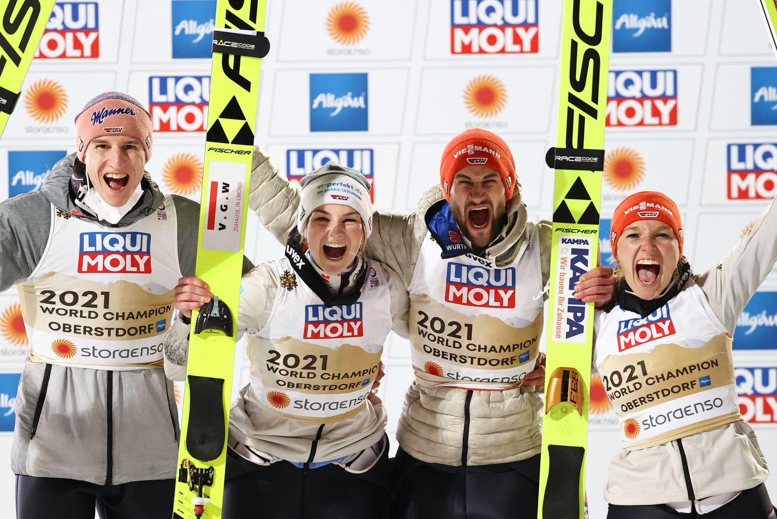 Nordische Ski-WM Oberstdorf