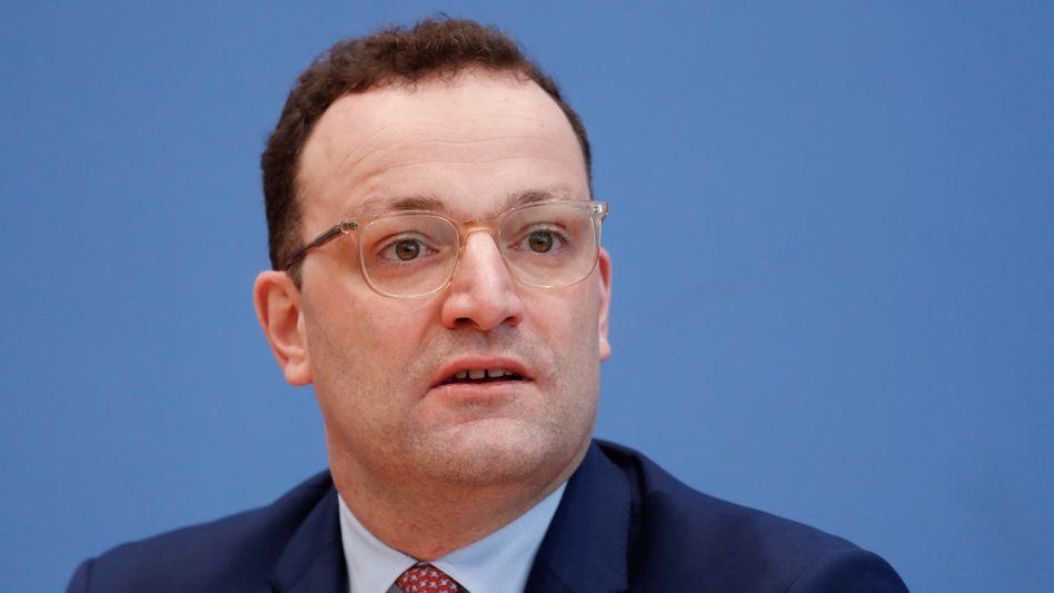 """Gesundheitsminister Jens Spahn: """"Je langsamer sich das Virus verbreitet, desto besser"""""""