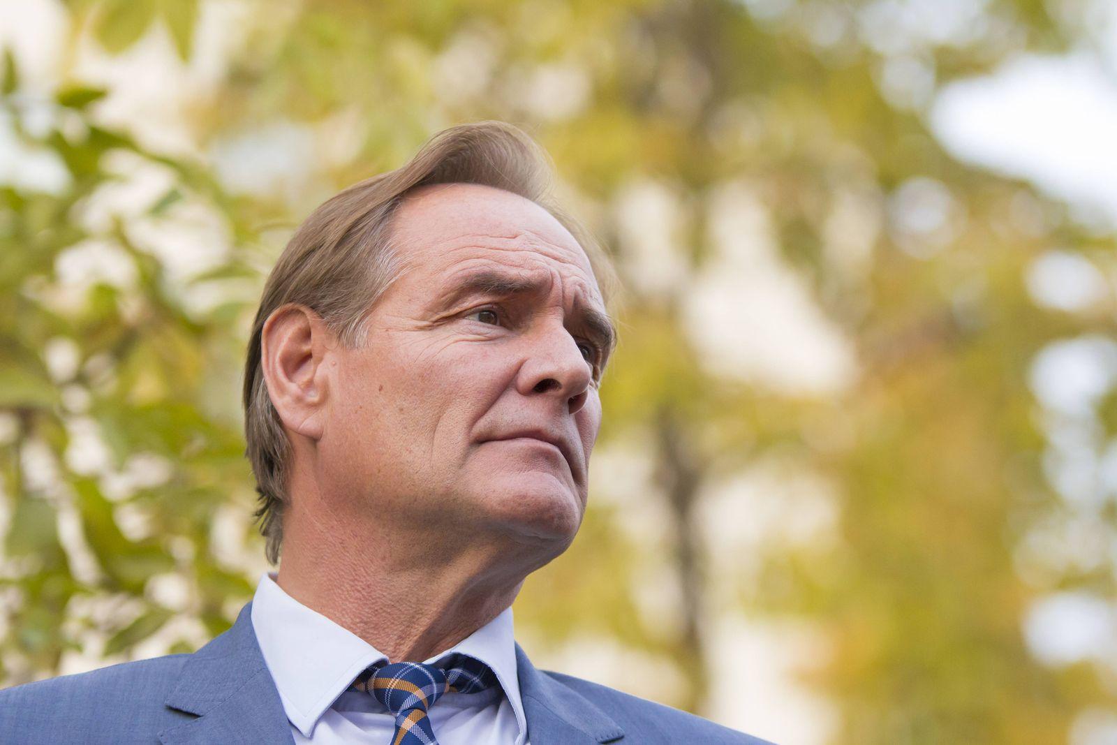 EINMALIGE VERWENDUNG Leipziger Bürgermeister Burkhard Jung