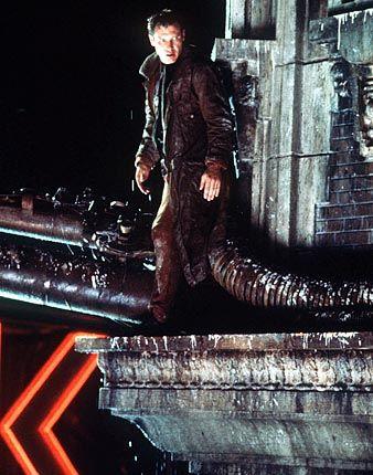 """Science-Fiction-Klassiker """"Blade Runner"""" (mit Harrison Ford): Ästhetische Vorlage vieler Kino-Utopien"""
