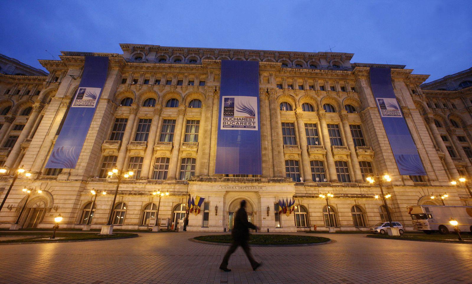 NICHT VERWENDEN NATO-Gipfel in Bukarest