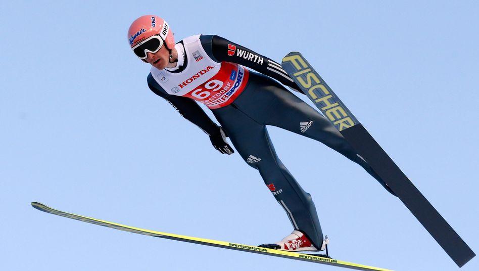 Skispringer Freund: Neunter in der Qualifikation