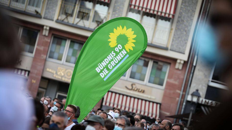 Wahlkampfveranstaltung der Grünen in Frankfurt am Main (Archivbild)