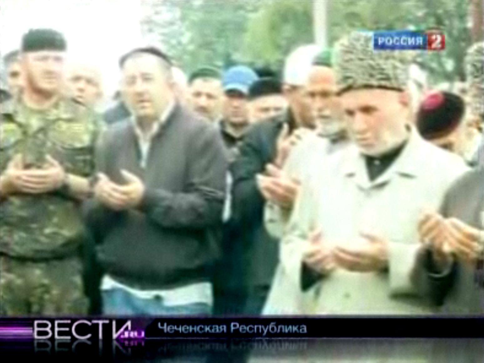 EINMALIGE VERWENDUNG NUR ALS ZITAT TVesti TV / Bogatirow Kadirow