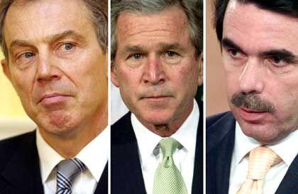 Blair, Bush, Aznar: Gemeinsam in den Krieg