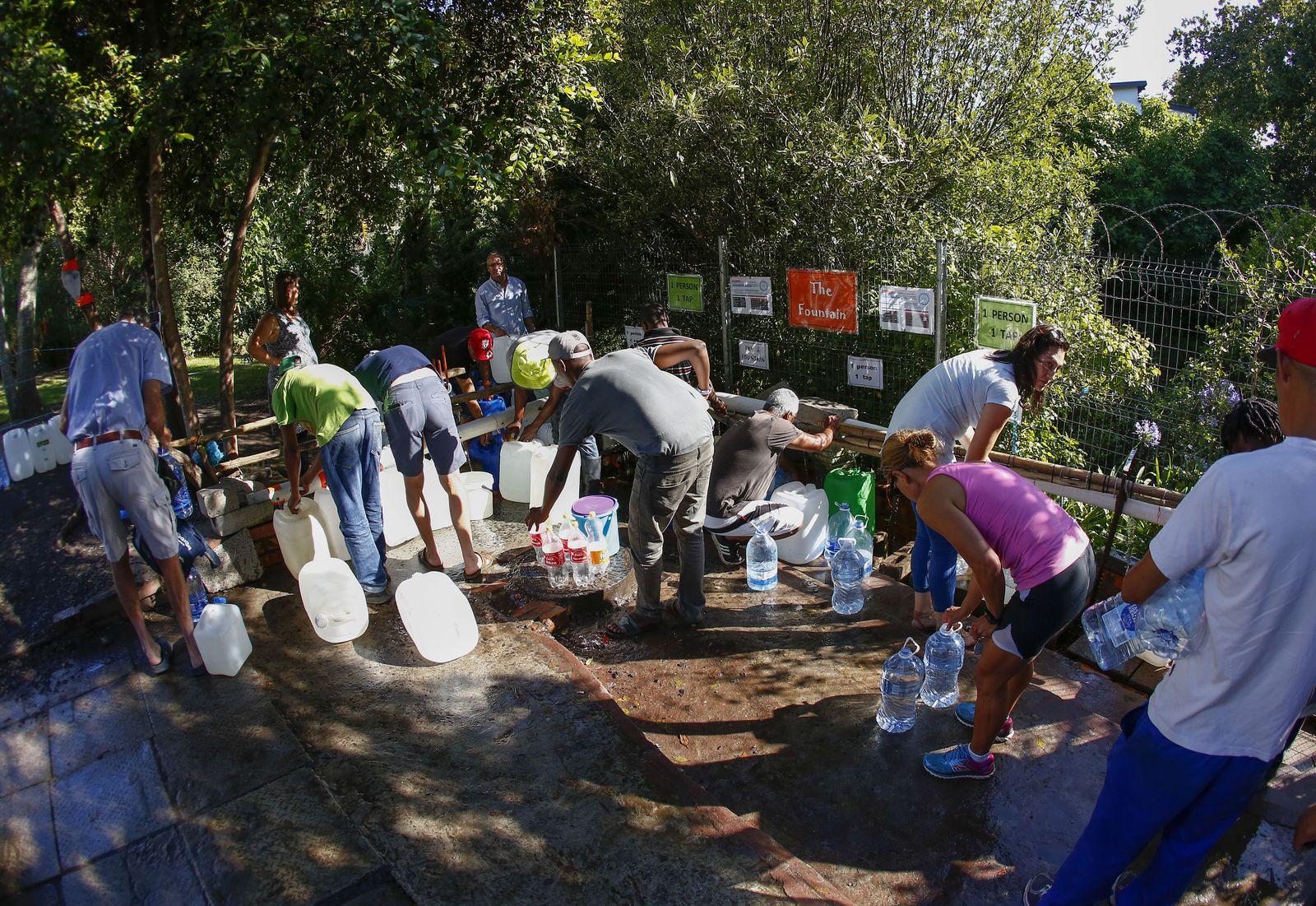 Wassernot/ Kapstadt